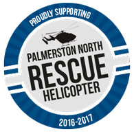 Palmerston North Rescue Helicopter  logo